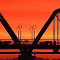 Sunrise Walnut Street Bridge by Tom and Pat Cory