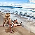 Sunrise Woman by MotHaiBaPhoto Prints