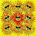 Suns Party by Vicki Podesta