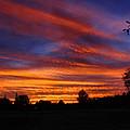 Sunset 2   09 22 12 by Joyce Dickens
