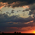 Sunset After The Thunderstorm by Debbie Portwood