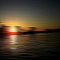 Sunset Art 1 by Linda Hutchins