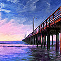 Sunset At Avila Beach by Dominic Piperata