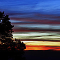 Sunset At Desert View Along The Grand Canyon by Greg Matchick