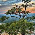 Sunset At Hanging Rock by Adam Jewell