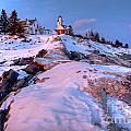 Sunset At Pemaquid  by Susan Cole Kelly