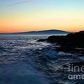 Sunset At Schoodic by Adam Jewell