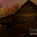 Sunset At The Barn by Kim Henderson