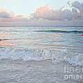 Sunset At The Beach Yucatan Peninsula Mexico by Renata Ratajczyk