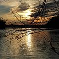 Sunset At The Lake by Ericamaxine Price