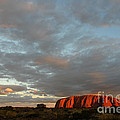 Sunset At Uluru by Vivian Christopher