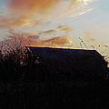 Sunset Barn1 by Debbie Morris