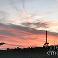 Sunset Battleship by Art Dingo