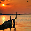 Sunset Bay V by Steven Ainsworth
