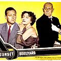 Sunset Boulevard, William Holden by Everett