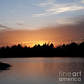 Sunset By The Lake by Art Whitton