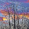 Sunset Cloud Colors 11 by Dave Dresser