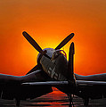 Sunset Corsair by Paul Leverington