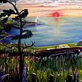 Sunset Cruisin' by Renate Nadi Wesley