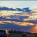 Sunset Drive by Debbie Portwood