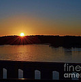 Sunset From The Bridge by Sue Stefanowicz