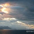 Sunset In Alaska by Gail Behrik