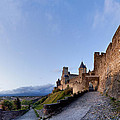 Sunset In Carcassonne by Robert Lacy