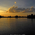 Sunset In Clearwater Florida by G Adam Orosco