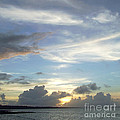 Sunset In Majuro by Andrea Anderegg