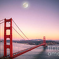 Sunset In San Francisco by Jim And Emily Bush