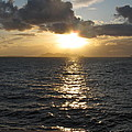 Sunset In The Black Sea by Phyllis Kaltenbach