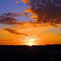 Sunset In Wayne County by Lisa Stanley