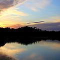Sunset Lagoon by Brenda Deem