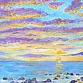 Sunset Maui by Tamara Tavernier
