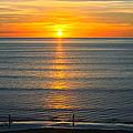 Sunset - Moana Beach - South Australia by Jocelyn Kahawai