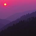 Sunset Morton Overlook by Chuck Wickham