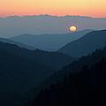 Sunset Morton Overlook by Dean Pennala
