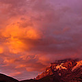 Sunset Murren Switzerland by Tom and Pat Cory