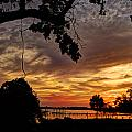 Sunset On Biloxi Bay by Beth Gates-Sully