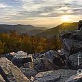 Sunset On Black Rock Mountain by Dustin K Ryan