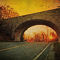 Sunset On Blue Ridge Parkway by Kathy Jennings