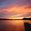 Sunset On Chilhowee by Christopher Ewing
