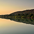 Sunset On Kunene River, Namibia by Marco Brivio