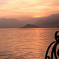 Sunset On Lake Como by Greg Matchick