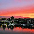 Sunset On Lake Havasu by Kristin Elmquist