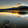 Sunset On Little Washoe by Dianne Phelps