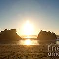 Sunset On Ruby Beach by Dana Kern