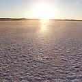Sunset On Salt Lake by David Peters