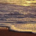 Sunset On Small Wave by Vince Cavataio - Printscapes