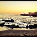 Sunset On The Rocks by Sebastian Acevedo